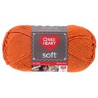 Red Heart Soft Yarn, Tangerine