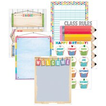 Upcycle Style Classroom Essentials Chart Pack