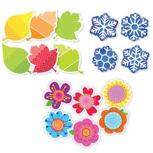 """3 Seasons 6"""" Cut-Outs Pack Trio"""