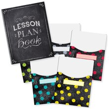 Chalk It Up! Lesson Plan Book & Library Pocket Organizers Contents