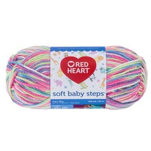 Red Heart Soft Baby Steps Yarn, Giggle