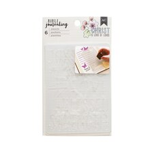 American Crafts Bible Journaling Stencils, Anchor