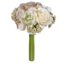 Light Natural Rose & Peony Stem Bundle By Ashland
