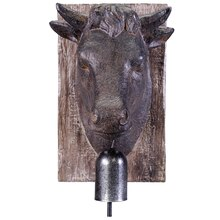Cow Head Wall Decor Accent By Ashland