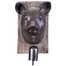 Pig Head Wall Decor Accent By Ashland