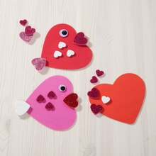 Valentine's Day Foam Heart Fish, medium