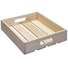Craft It Large Planked Wooden Tray By ArtMinds™