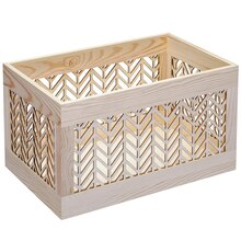 Craft It Large Wooden Crate By ArtMinds
