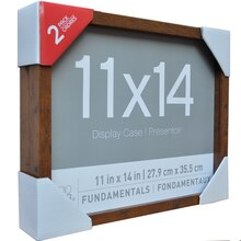 "Fundamentals Honey 11"" x 14"" Shadowboxes By Studio Decor"