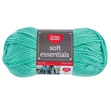 Red Heart Soft Essentials Yarn- Minty