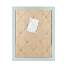 Mint & Light Brown French Bulletin Board By Ashland