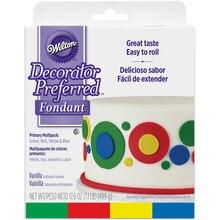 Wilton Decorator Preferred Fondant, Primary Colors