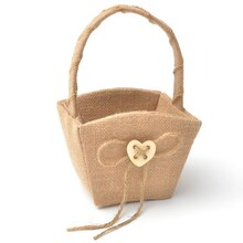XO Flower Girl Basket