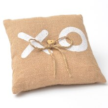 XO Ring Bearer Pillow