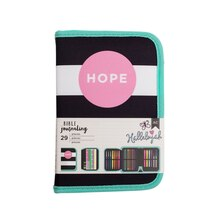 American Crafts Bible Journaling Pen Pouch, Hope