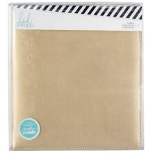 Heidi Swapp Large 12-Month Planner, Gold