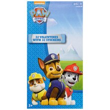 Nickelodeon Paw Patrol Deluxe Valentine's Day Cards