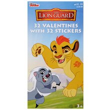 Disney Junior The Lion Guard Deluxe Valentine's Day Cards