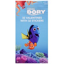 Disney Pixar Finding Dory Deluxe Valentine's Day Cards