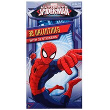 Marvel Ultimate Spiderman Deluxe Valentine's Day Cards