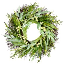 Mixed Grass Wreath By Ashland