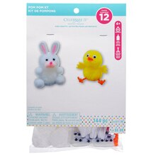 Pom-Pom Craft Kit By Celebrate It