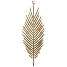 Bronze Wall Decor Palm Leaf By Ashland