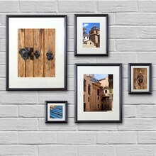 black frame set by studio dcor - Michaels 12x12 Frame