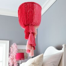 Yarn Chandelier, medium