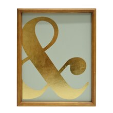 Ampersand Wall Sign By Ashland