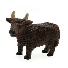 Miniature Spring Brown Bull By Celebrate It