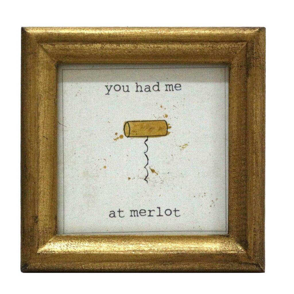 Cork Mini Sentiment Frame By Studio Decor
