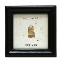 Grater Mini Sentiment Frame By Studio Decor