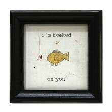 Fish Mini Sentiment Frame By Studio Decor