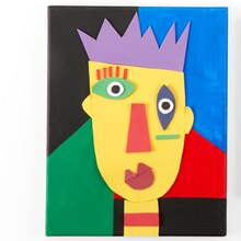 Kids Club® Abstract Picasso Portrait, medium