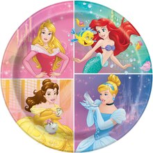 "9"" Disney Princess Party Plates, 8ct"
