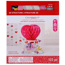 Hot Air Balloon 3D Structure Kit By Celebrate It