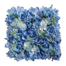 Blue Orchid, Rose & Hydrangea Floral Mat By Ashland