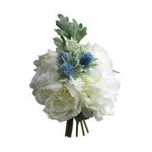 Cream Rose & Peony Bundle Stem By Ashland