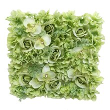 Green Orchid, Rose & Hydrangea Floral Mat By Ashland