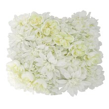 White Dahlia, Rose & Hydrangea Floral Mat By Ashland