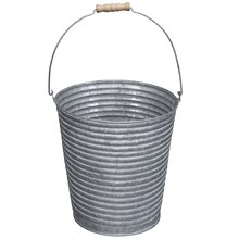 Large Galvanized Bucket By Ashland