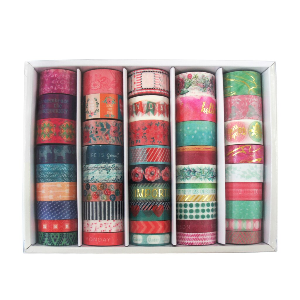 buy the new planner washi box by recollections at michaels. Black Bedroom Furniture Sets. Home Design Ideas