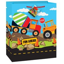 Construction Truck Party Gift Bag