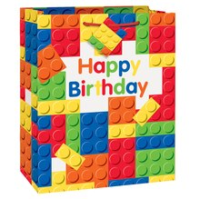 Building Blocks Birthday Gift Bag