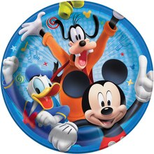 "9"" Mickey Mouse Party Plates, 8ct"