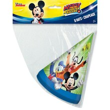 Mickey Mouse Party Hats, 8ct