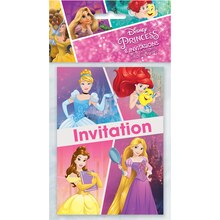 Disney Princess Invitations, 8ct