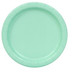 "9"" Mint Party Plates, 16ct"
