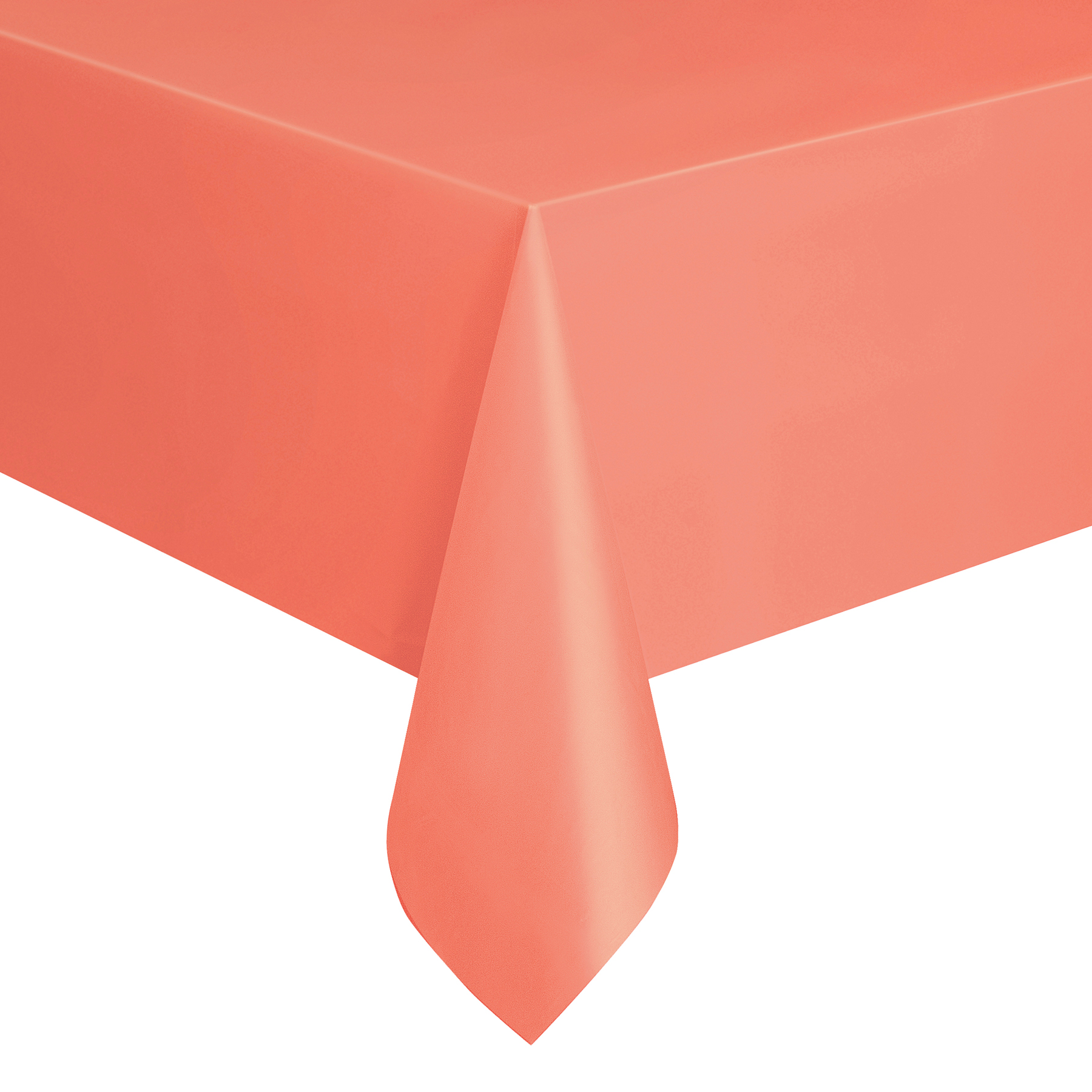 ... Plastic Coral Tablecloth, ...